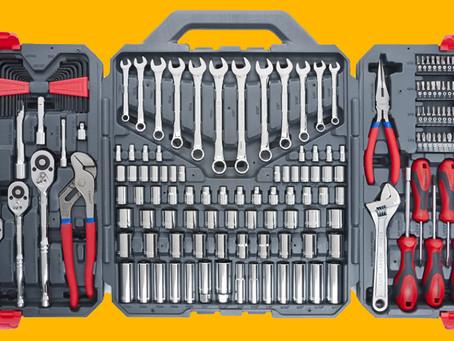 Conservando suas ferramentas.