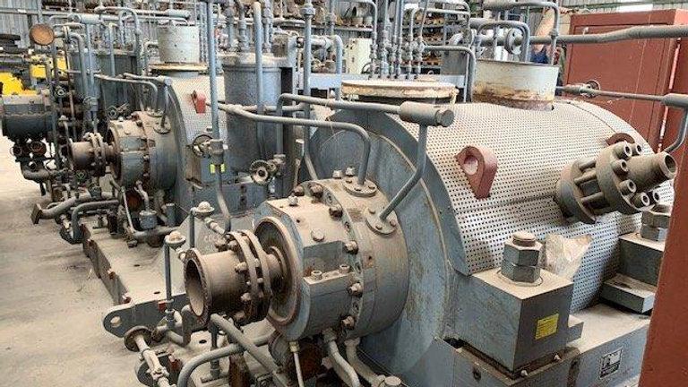 Conjunto de Bomba de Água Marca Sulzer Bross de Alta Pressão e Redutor