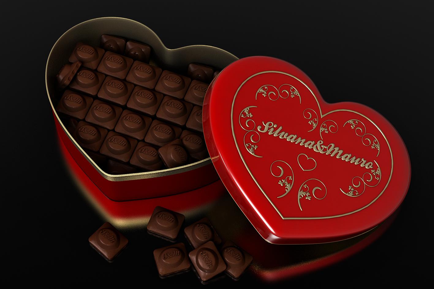 Chocolate com amor