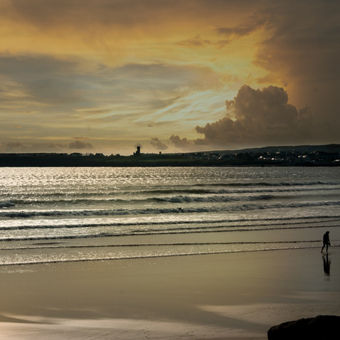 Evening Sun Lahinch Beach