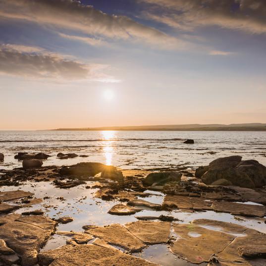"""Sunset on Liscannor Bay"""