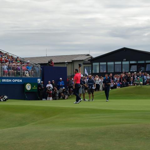 John Rahm Winner Dubai Irish Open, Lahinch Golf Club 2019