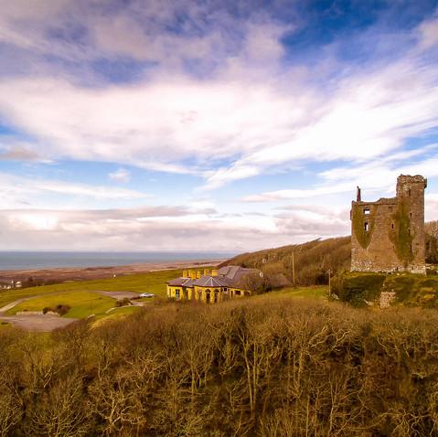 Ballinalacken Castle circa 15c