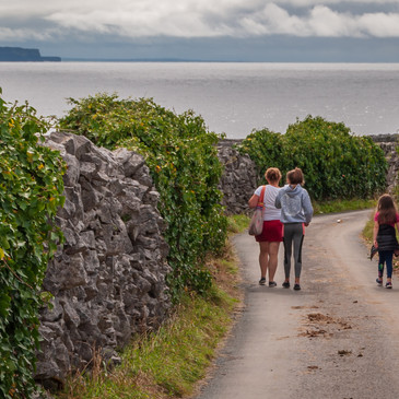 Family Hike on Inis Oirr (Aran Islands)