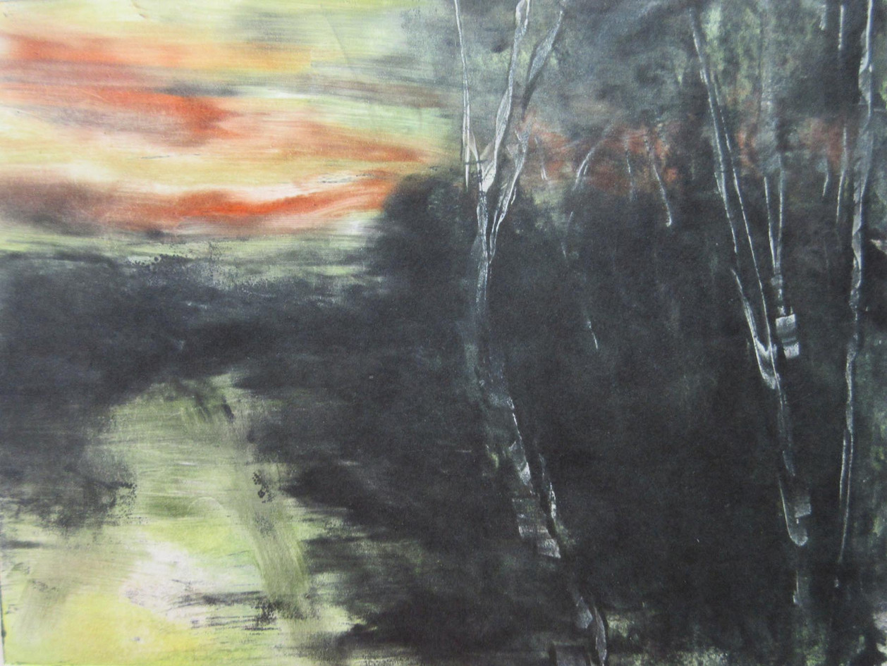 Journey by Twilight 2, Monoytype, 8 x 10
