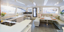 Belize Yacht - Saloon