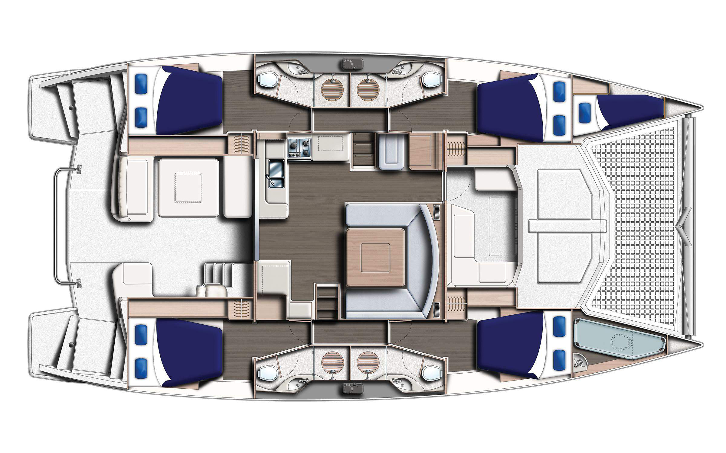 Belize Yacht - Layout
