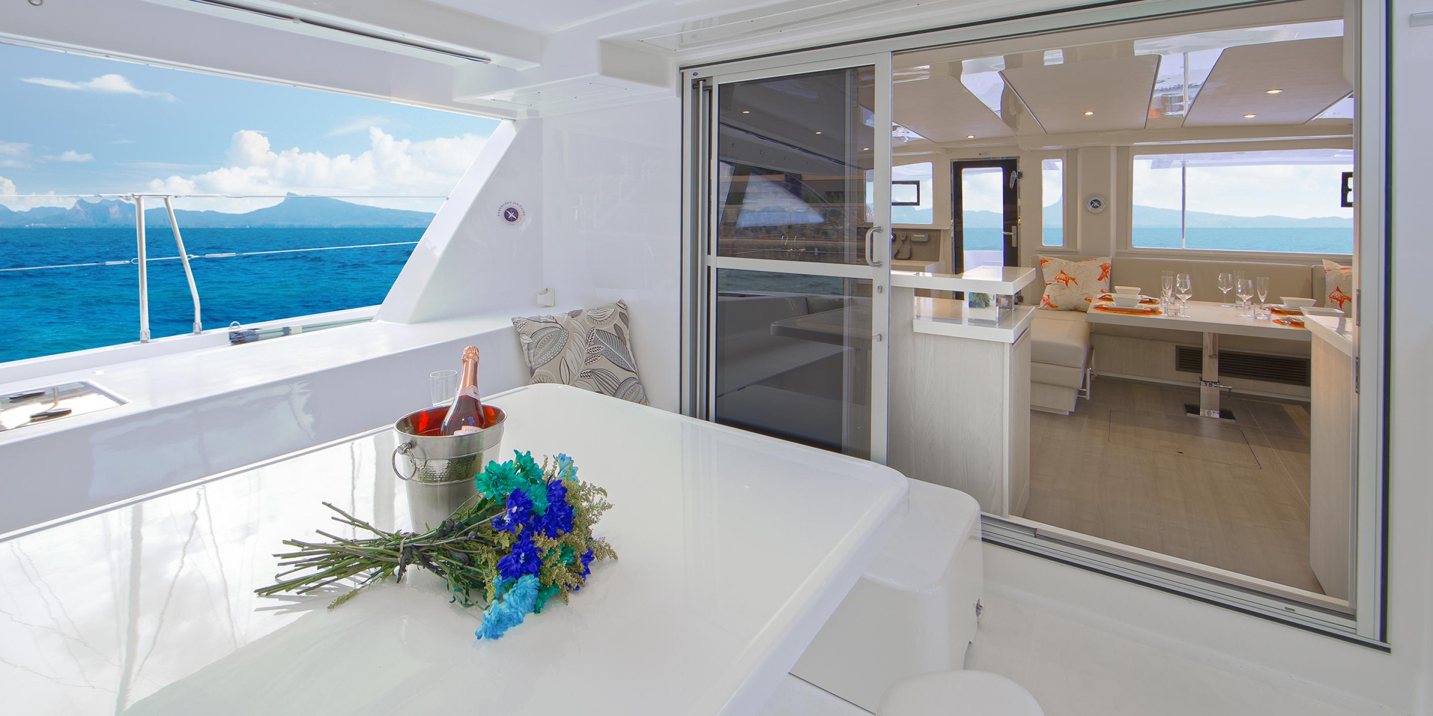 Belize Yacht - Cockpit