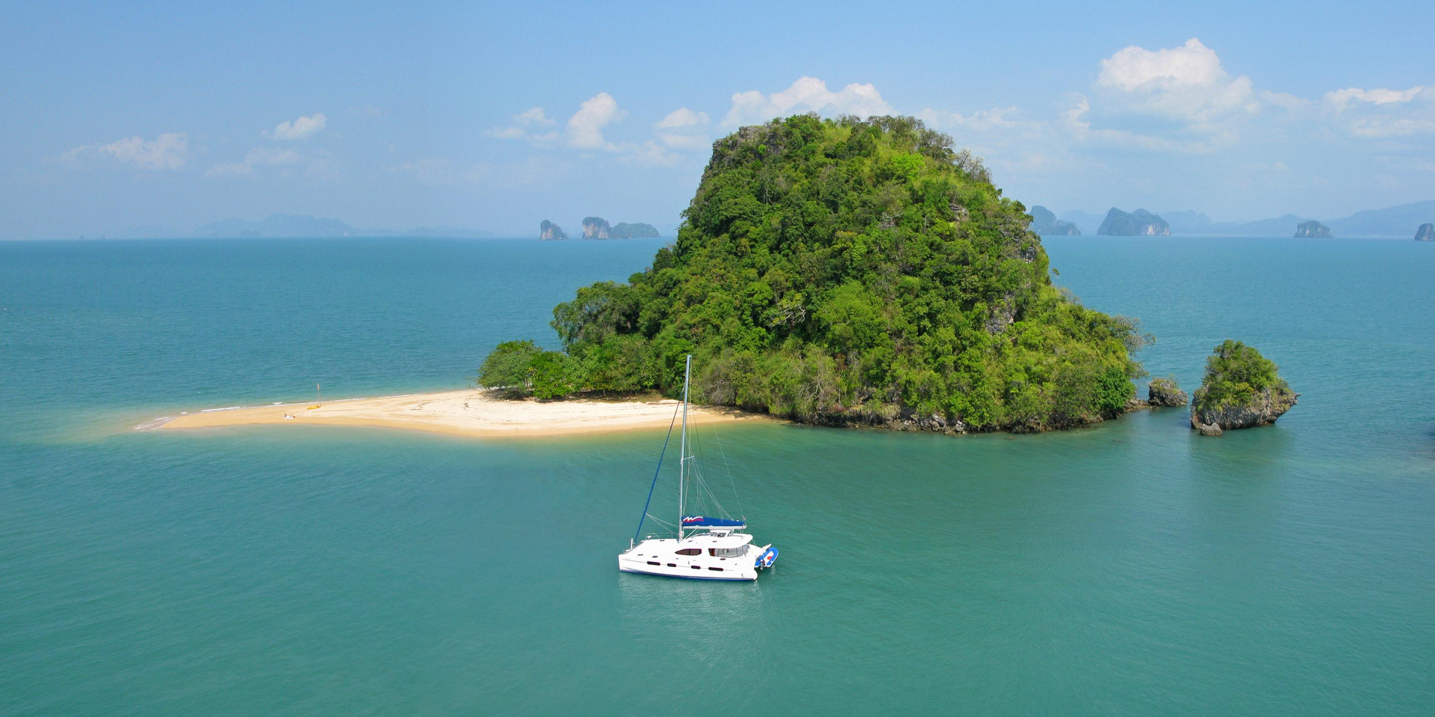 Coastal Sailing in Phuket
