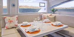 Belize Yacht - Saloon/Table
