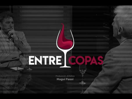 """Primera parte de la entrevista a Marcelo Krynski por Dracu Gómez en el programa """"Entre Copas""""."""