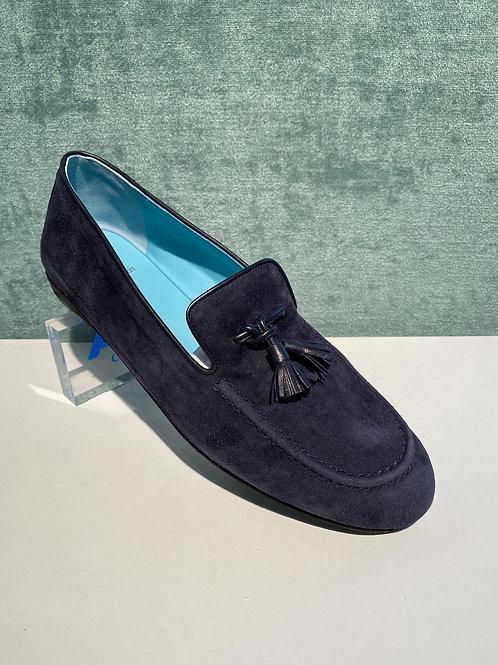 TR Loafer suede blu