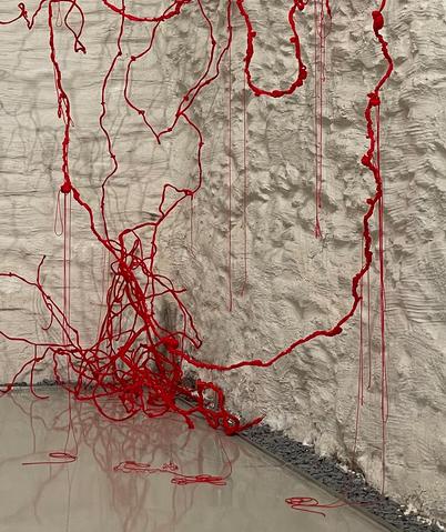 Installation Red Threads