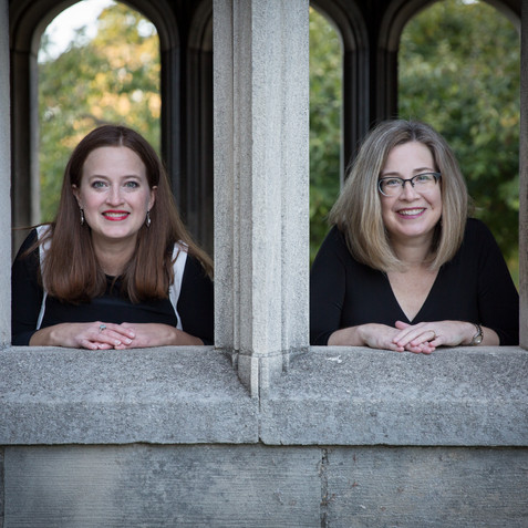 The Fink Sisters Piano Organ duo
