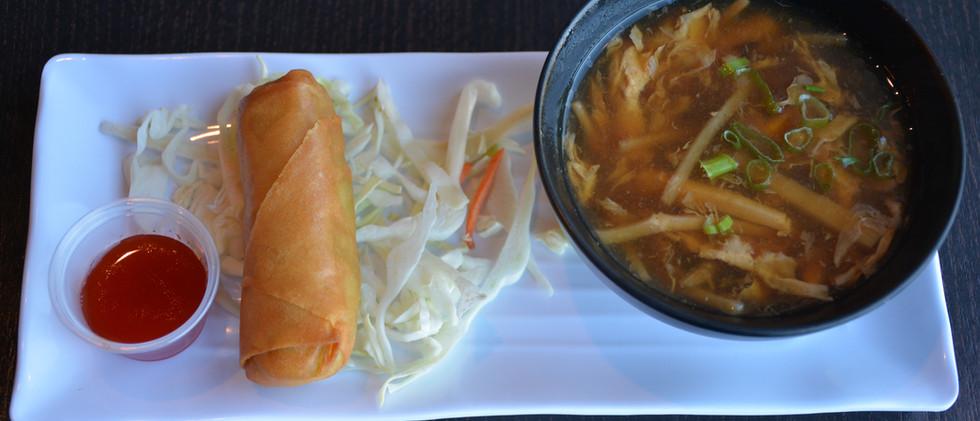 Hot & Sour Soup combo
