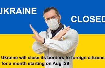 Ukraine bans entry of foreign nationals starting from August 28 to restrain COVID-19 spread