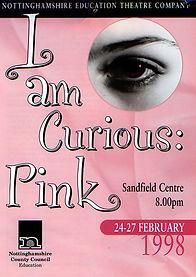 I am Curious Pink