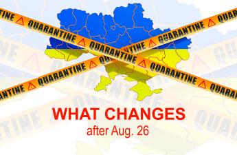 Ukraine Quarantine Measures - What changes after Aug. 26