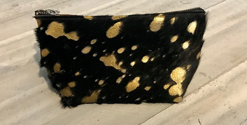 Hide Makeup Bag