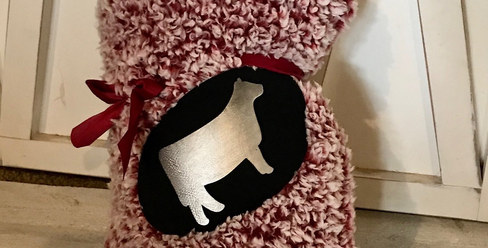 Heifer Sherpa Throw Blanket