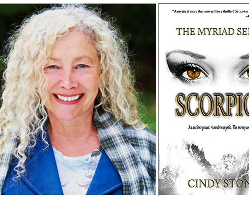 Cindy and book