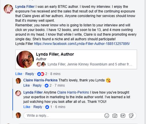 Lynda Filler comment 29 Oct 2017