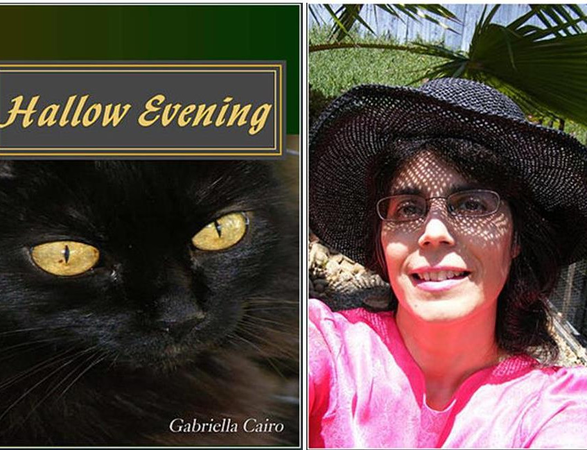 Gabriella and book