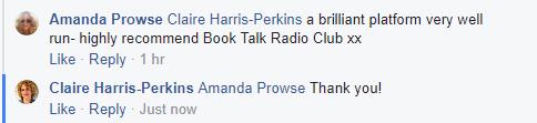 Amanda prowse comment 2