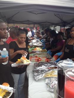 Feeding the homeless in Atlanta