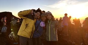 夏の思い出、富士登山