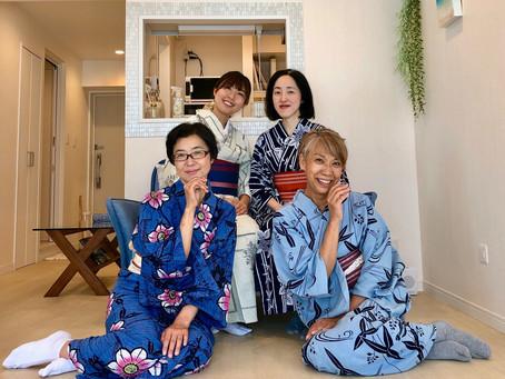 浴衣♡所作ワークショップ、3回目