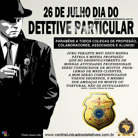 26 de julho dia do detetive particular c