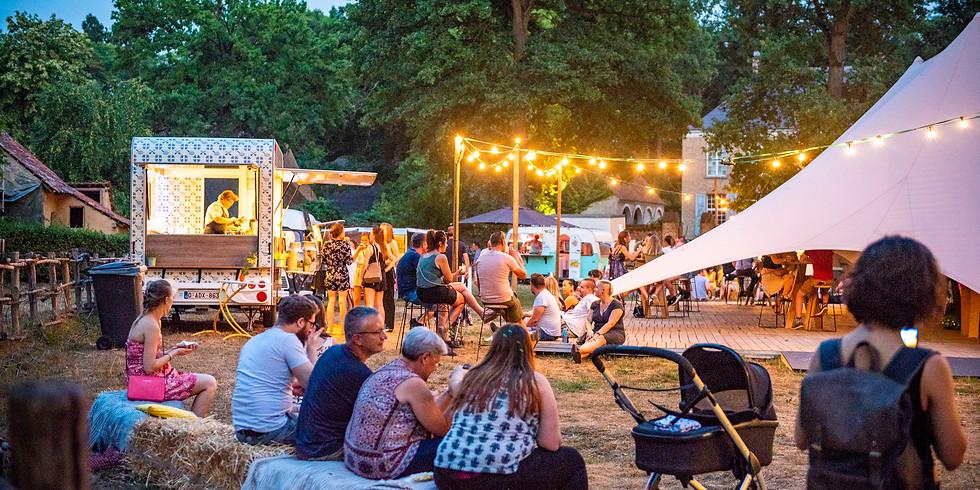 Zomeravonden Bokrijk Foodtruckfestival Chefs on Wheels