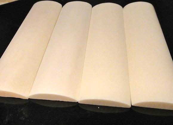 Knife Scales - Camel Bone Radius (127x38x6.5mm)
