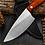 Thumbnail: Stainless Full Tang Kitchen Vegetable Prep Knife & Sheath