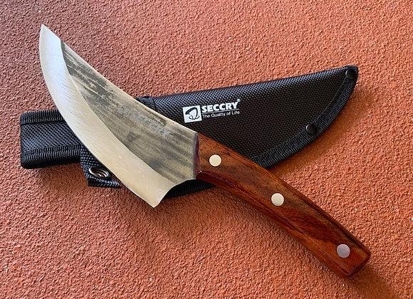 Scimitar Boning Hunting Skinning Camping Knife Forged Full Tang 5.5 inch