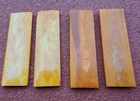 Knife Scales - O/B Camel Bone  (100x32x6mm)