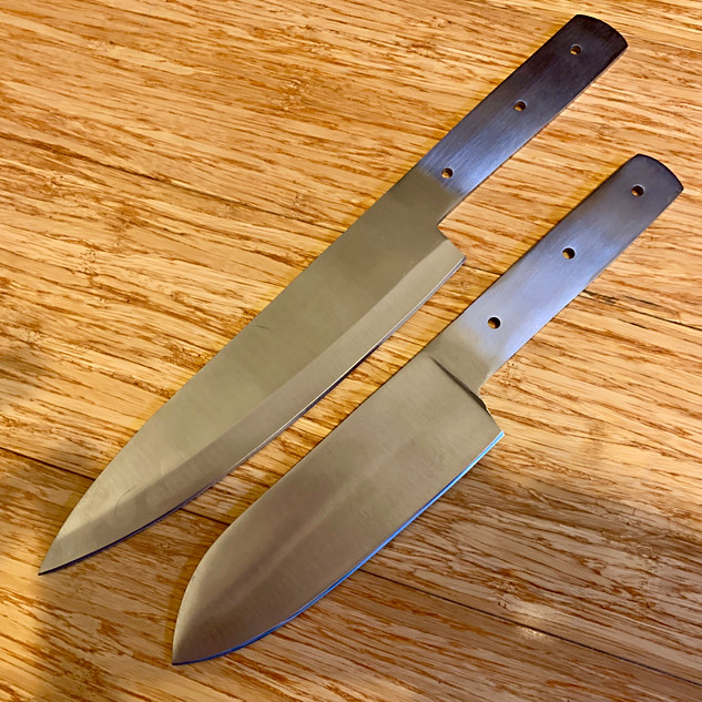 stainless chefs knife blanks set .jpeg