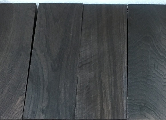 Knife Scales - African Blackwood (120x40x10mm)