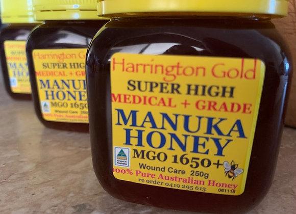 MGO1650+ 250G Australian Manuka Honey Super High Medical Grade