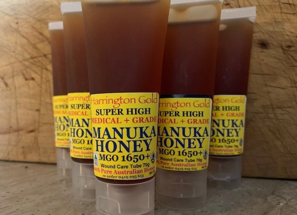 MGO1650 Raw Australian Manuka Honey Super High Medical Grade Wound Care Tube 70g
