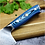 "Thumbnail: 8"" Chefs Knife 76 Layer Feather Pattern Stainless Damascus"