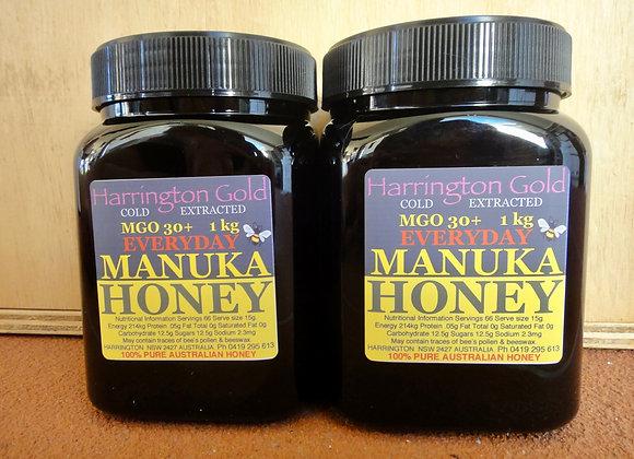 MGO30 (2 x 1Kg) Manuka Honey Everday use