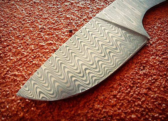 San Mai Style Small Skinner Knife Blank