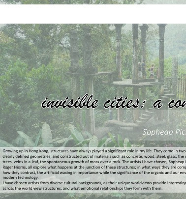 Invisible Cities (Comparative Study)