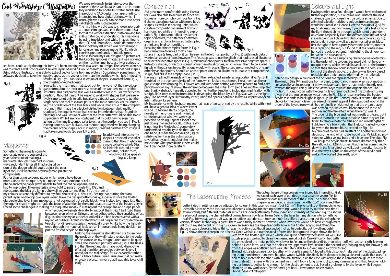 CAD Workshop (Illustrator)