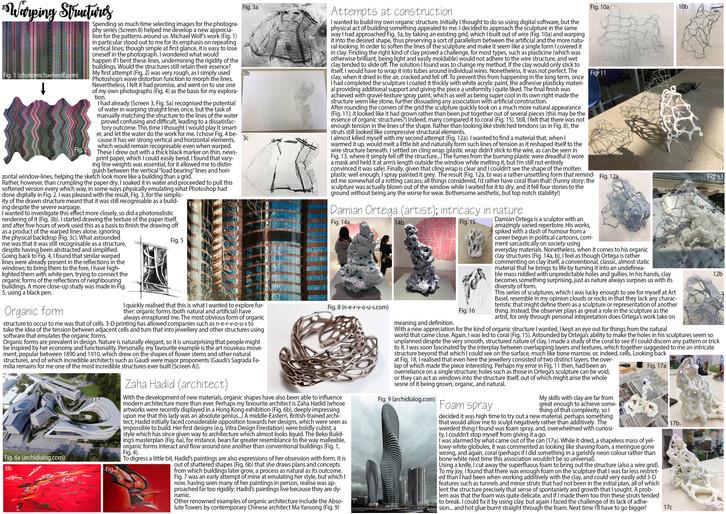 Warping Structures