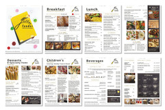 menu re-design