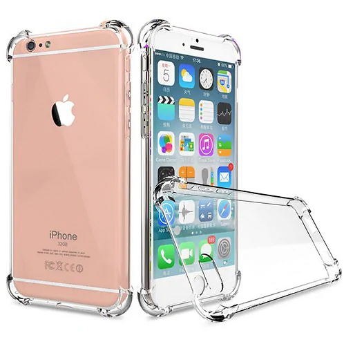 Crystal Clear Shockproof Ultra Thin Tpu Case for iPhone 6 / 6s