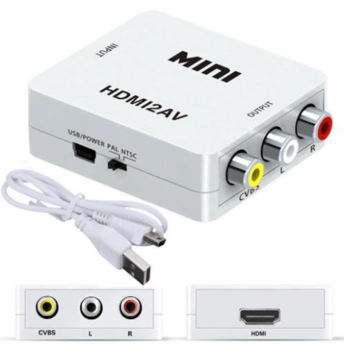 HDMI to RCA Adapter Converter